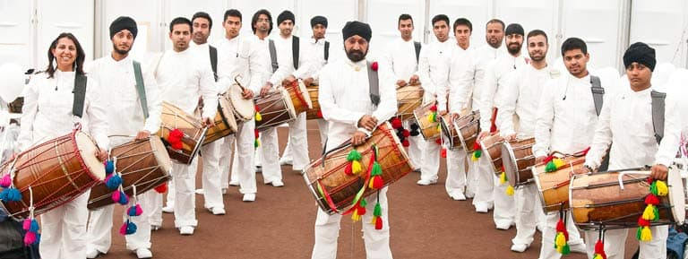 Dhol Foundation to perform at Wychwood Festival 2017.