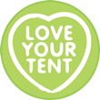 Love your tent logo.