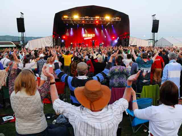 Wychwood Festival: The Main Stage.