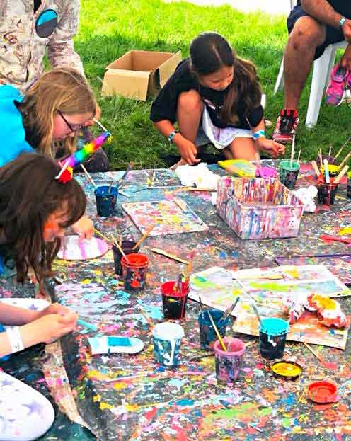 Workshops for all the family at Wychwood Festival 2018